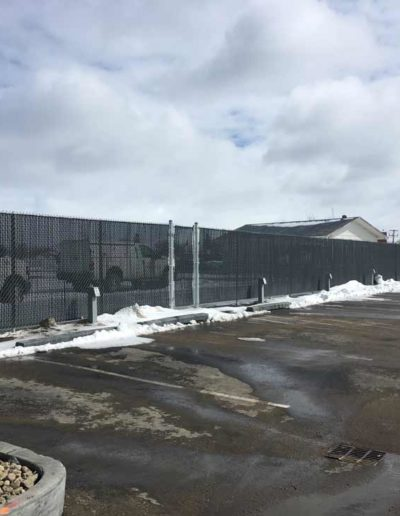 Commercial Chain Link Fence - Regina
