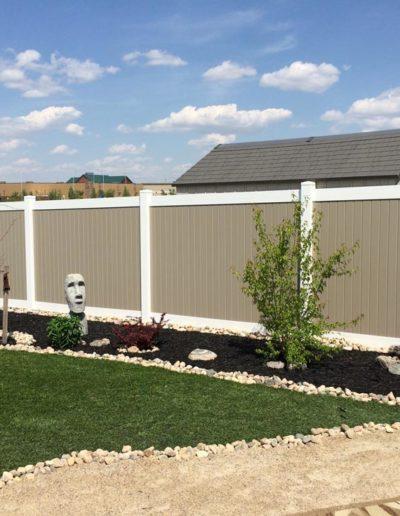 PVC Fence Regina 2