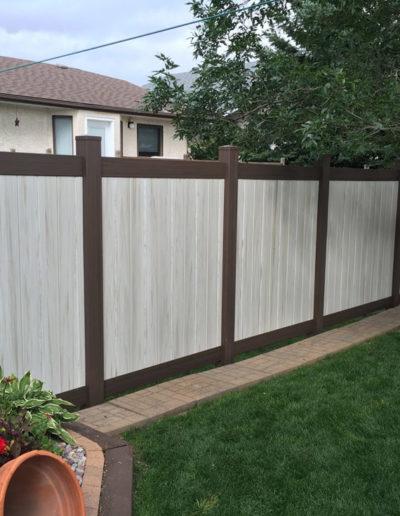 PVC Fence Regina 2-5