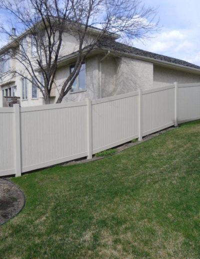 PVC Vinyl Fencing Regina