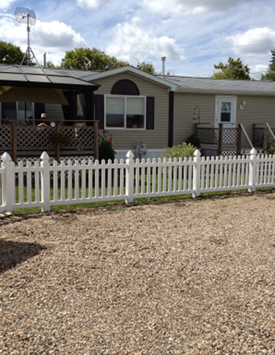 Open Picket Vinyl Fence