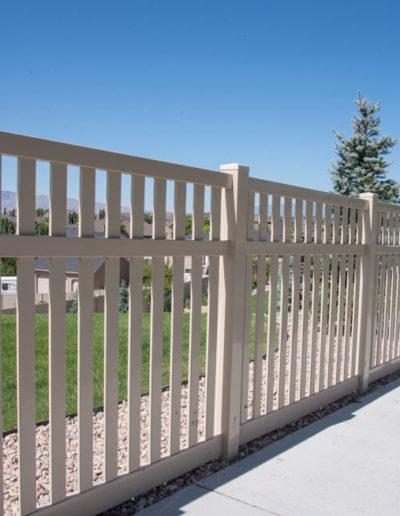 PVC Vinyl Fence Regina