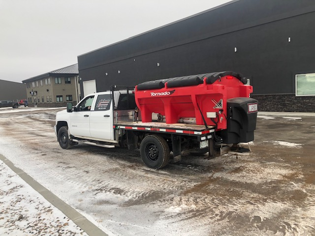 Parking Lot Sanding Regina