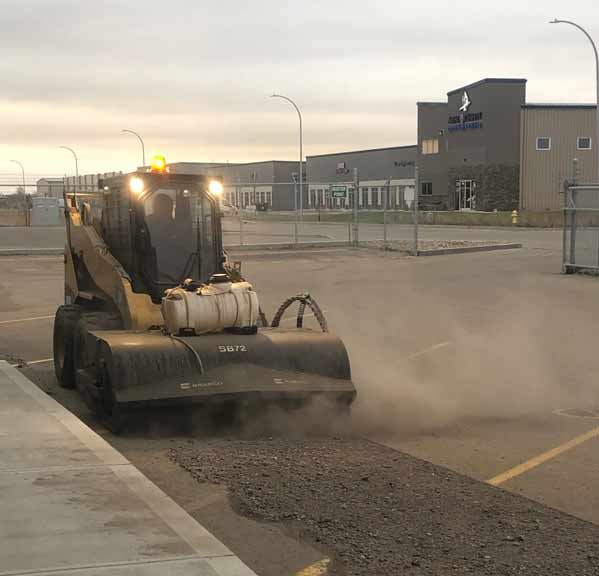 Parking Lot Sweeping Regina